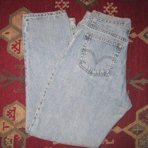 "Levi's Women""s 550 high top Blue Jeans size 10M"